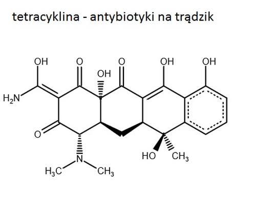 tetracyklina nie dała rady z moim trądzikiem!